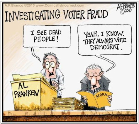 Al-Franken-sees-dead-people-voting-Democrat