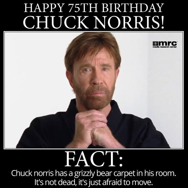 Chuck Norris… – Freedom Is Just Another Word…