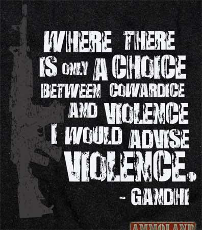 Violence-Gandhi