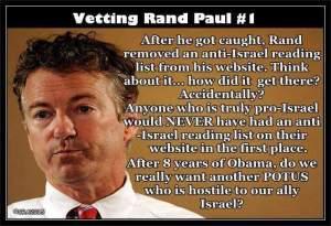 Vetting Paul