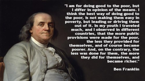 Benjamin-Franklin-On-The-Poor-500x281