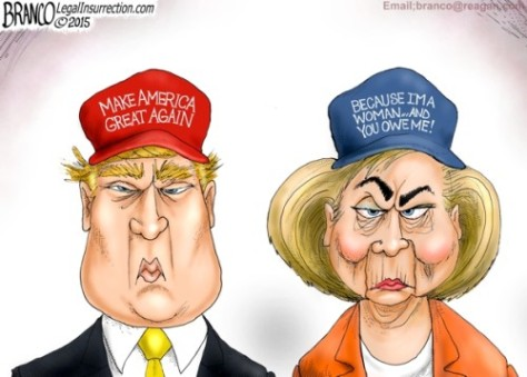 Branco-Trump-and-Hillary-500x358
