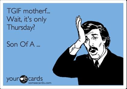 Thursday TGIF